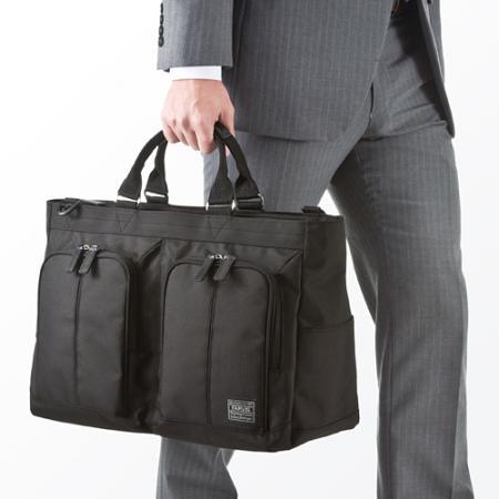 ボストンビジネスバッグ(大容量・2WAY・通勤&出張対応)