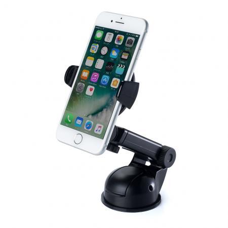 iPhoneX iPhone8/8 Plus対応スマートフォン車載ホルダー ダッシュボード取付 ゲル吸盤 前後調整可能