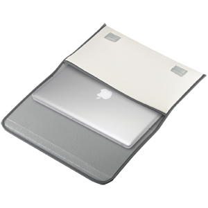MacBook低反発ケース(13.3型ワイド・ホワイト)