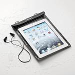 iPad・iPad2・iPad第3世代防水ケース(ステレオジャック付)