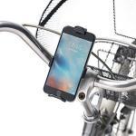 自転車用iPhoneホルダー シティサイクル ロードバイク ハンドル直径Φ20~34mm 脱着簡単