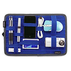 ガジェット&デジモノアクセサリ固定ツール GRID-IT! A4サイズ ブルー
