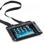 iPad mini防水ケース(お風呂対応・7インチ汎用・スタンド機能・ストラップ付)