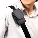 ショルダーベルトケース (for iPhone、iPod、携帯電話、デジカメ・グレー)