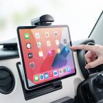 iPad・タブレット車載ホルダー(10.5/9.7インチiPad Pro、9.7インチiPad、iPad Air・mini、10インチタブレット対応)