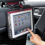 iPad2・iPad背面クリアポケットIT小物入れ(車載対応)