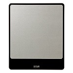 MacBookにぴったりなアルミニウムマウスパッド(シルバー)